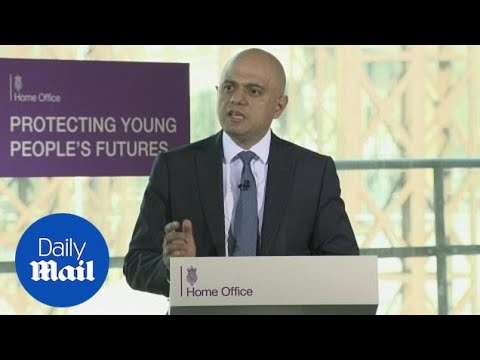 Sajid Javid: Serious violence is like a disease outbreak