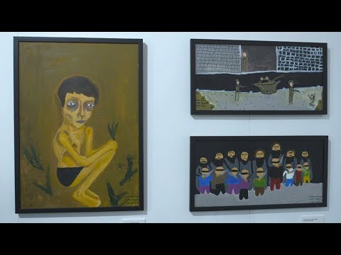 Gallery of grief: Syria's war as drawn by child refugees