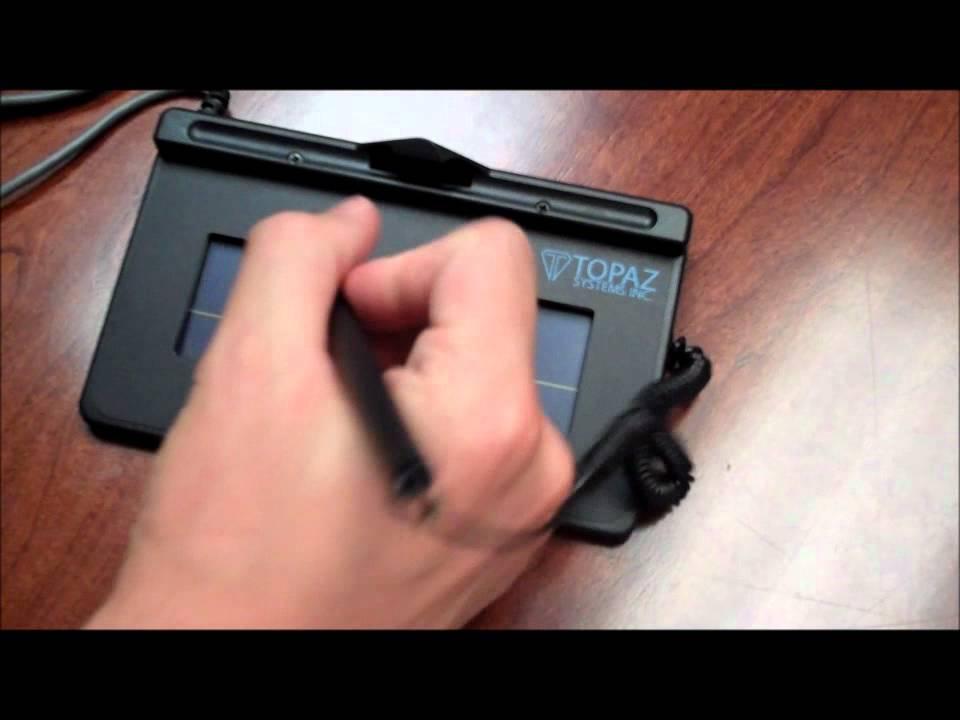 Topaz Signature Pad | Medical Software Tools