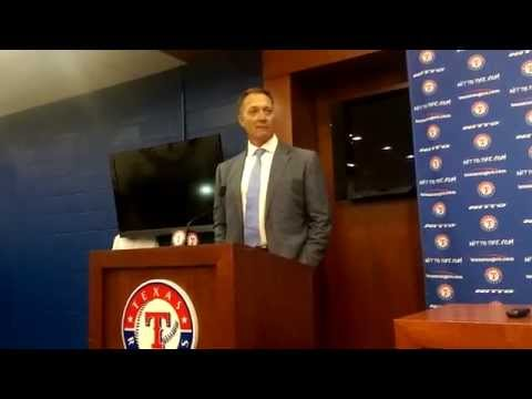 Rangers New manager Jeff Banister