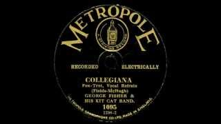 Collegiana - George Fisher & His Kit Cat Band