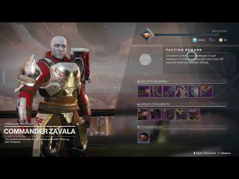 Destiny 2 Get Vanguard Tokens from Daily Dawning Gift