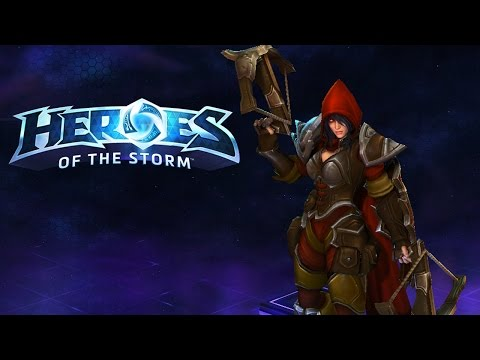 Valla, Sustain Damage Monster(Heroes of the Storm Gameplay)