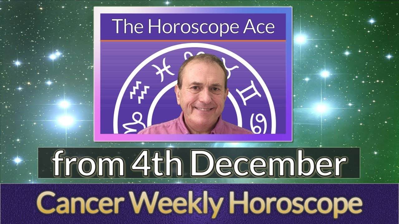 cancer weekly astrology forecast 4 december 2019 michele knight