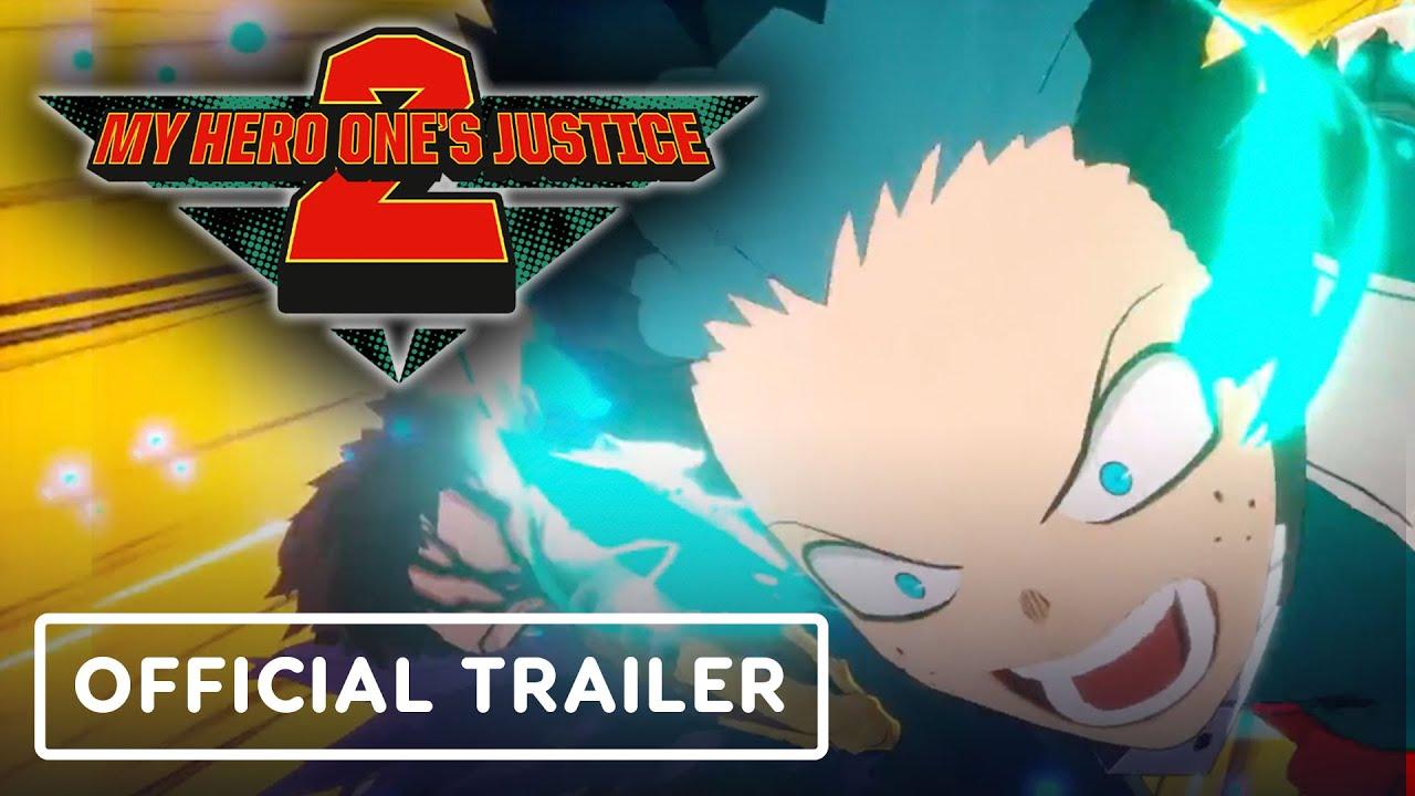 My Hero One's Justice 2 - Trailer Oficial de Personagens + vídeo