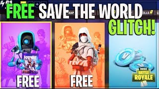 Fortnite - HOW TO GET FORTNITE SAVE THE WORLD FOR FREE GLITCH! *UPDATED* (Free V Bucks + XBOX ONLY)