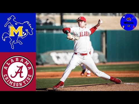 Download McNeese State vs Alabama Highlights (Game 1) | 2021 College Baseball Highlights