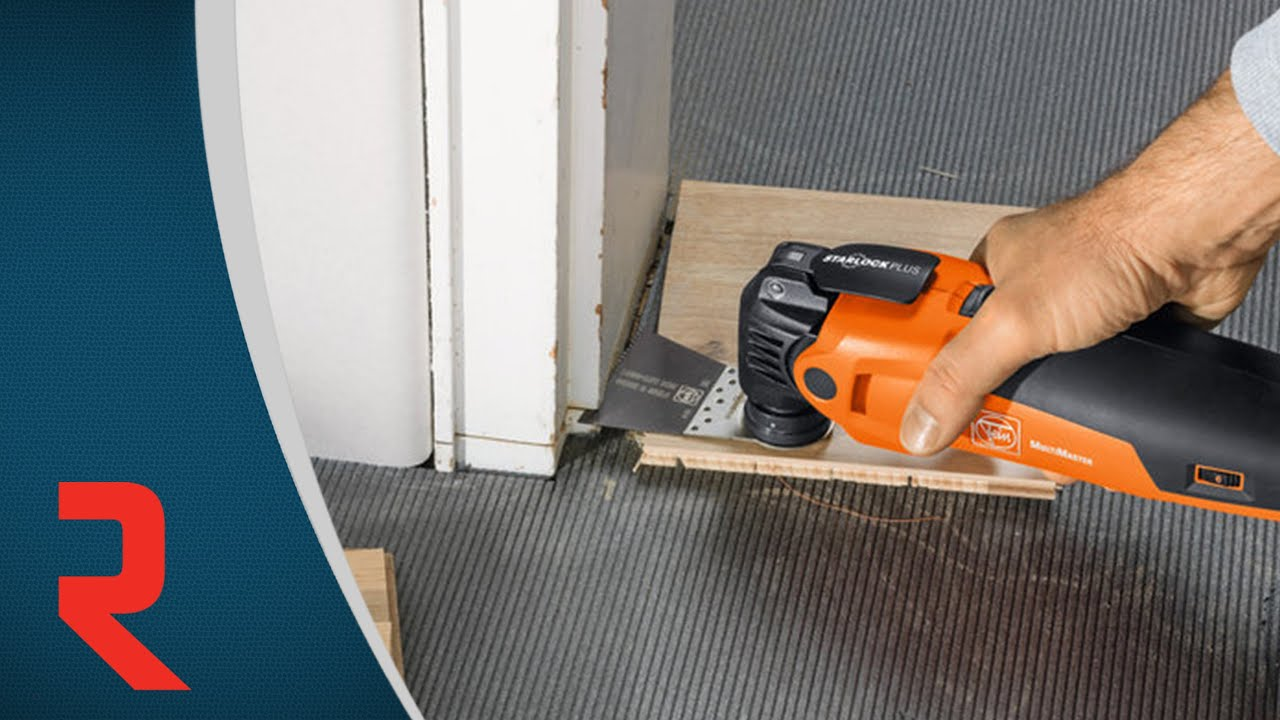 Comment Raccourcir Un Cadrage De Porte Avec Précision Pour Installer Un  Plancher Flottant