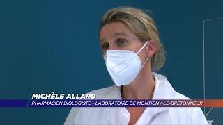 Yvelines | Dépistage du covid 19 au laboratoire de Montigny-le-Bx