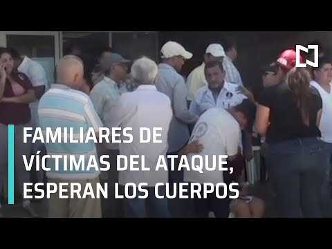 Familiares de víctimas del ataque en Coatzacoalcos esperan entrega de cuerpos - En Punto