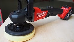 "Milwaukee Tool M18 Fuel Cordless 7"" Polisher - Auto Detailing - FIRST LOOK"