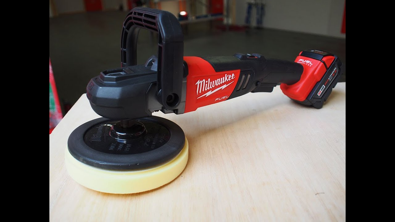 Milwaukee tool m18 fuel cordless 7 quot polisher auto detailing first