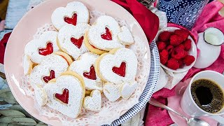 Valentine's Day Linzer Cookies - Home & Family