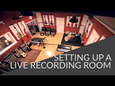 Setting Up A Live Recording Room