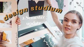 Design Projekte abgeben - Studium Weekly Vlog #8 // I'mJette