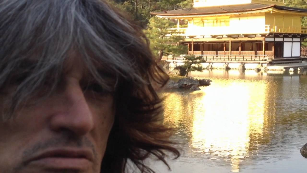 Joe Perry at the Golden Temple — Kyoto, Japan