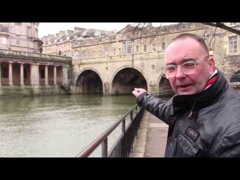 Walking Tour of Bath UK