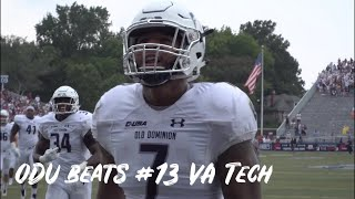 ODU beats #13 Virginia Tech | ESPYS Best Upset Nominee 2019