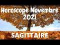 #Sagittaire Horoscope Novembre 2021 ♐️🍁Une vérité qui s'éclate, Abondance retrouvée❗️