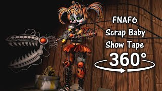 360 Scrap Baby Show Five Nights At Freddy S 6 SFM VR Compatible