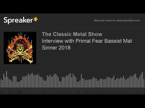 Interview with Primal Fear Bassist Mat Sinner 2018