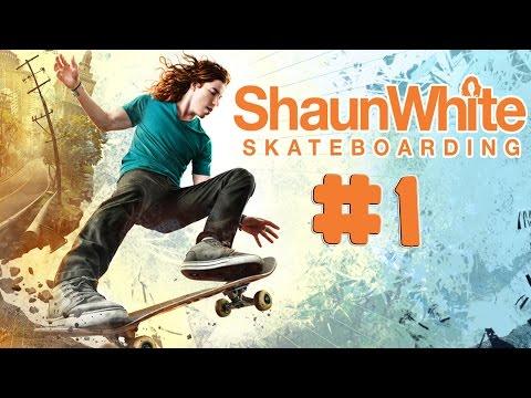 Shaun White Skateboarding - Walkthrough - Part 1 (PC) [HD]