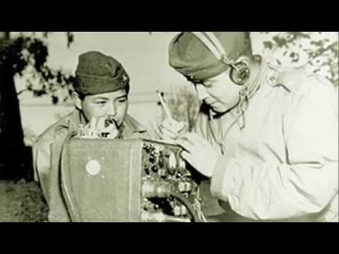 U.S. Marine Descendant of NAVAJO CODE TALKERS, World War II