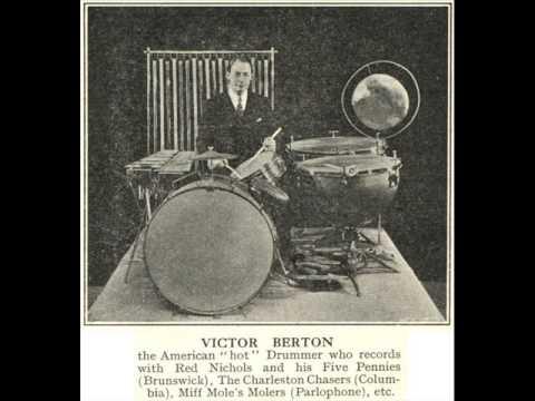VIC BERTON & HIS ORCHESTRA - (full album) 1935 - Great Vintage Drumming
