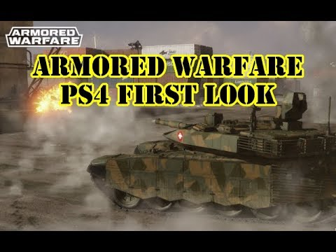 Armored Warfare PS4 First Look