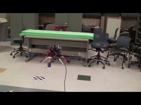 Autonomous Quadrotor Navigation using an onboard Camera (including Autonomous Aerial Gripping)