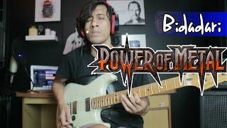 Tutorial Solo Gitar Power Metal Bidadari