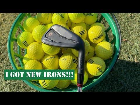 I GOT NEW IRONS! Golf Vlog EP. 2 | 4K