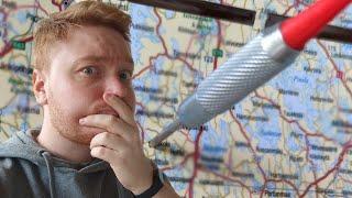 Heitin tikalla Suomen karttaa, mihin päädyin?