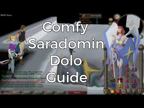 Comfy Saradomin Dolo - 8 hour trips - No Flicking