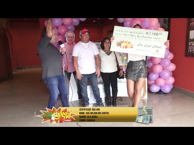 Jose, do Guarujá, e César, de São Vicente, levaram R$ 2.500,00 pra casa (cada).