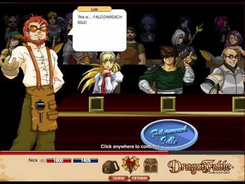 Dragonfable Falconreach Idle! (Part 1)