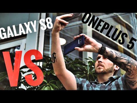 OnePlus 5 vs Galaxy S8 Camera Comparison Test!