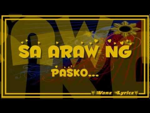Juris - Sana Ngayong Pasko Lyrics