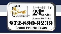 Team-Locksmith® Grand Prairie TX 972-890-9239 Car Keys Emergency Lockout