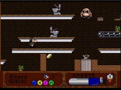 Manic Miner for the Commodore Amiga A500 - Part 1 of 3