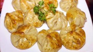 ЖАРЕНЫЕ ХИНКАЛИ. ОБАЛДЕННАЯ ВКУСНОТА | Fried Georgian Dumplings Khinkali Recipe