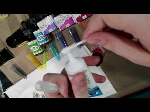 Liquid Watercolor for Fountain Pen Inks