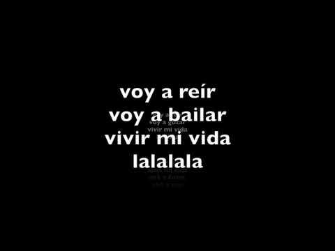 Vivir Mi Vida (Versión Pop)  Lyrics