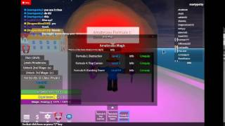 Roblox Fairy tail online fighting Glitch