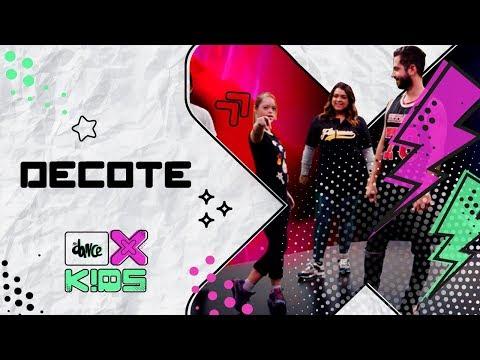 Decote - Preta Gil ft. Pabllo Vittar | FitDance Kids (Coreografía) Dance Video
