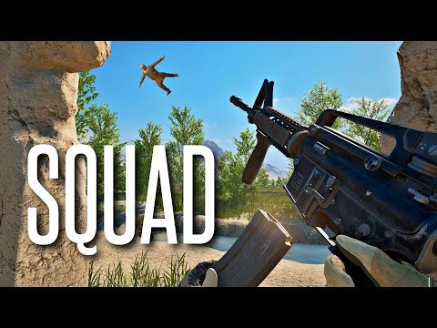WHAT IS HE DOING??? - Squad Gameplay