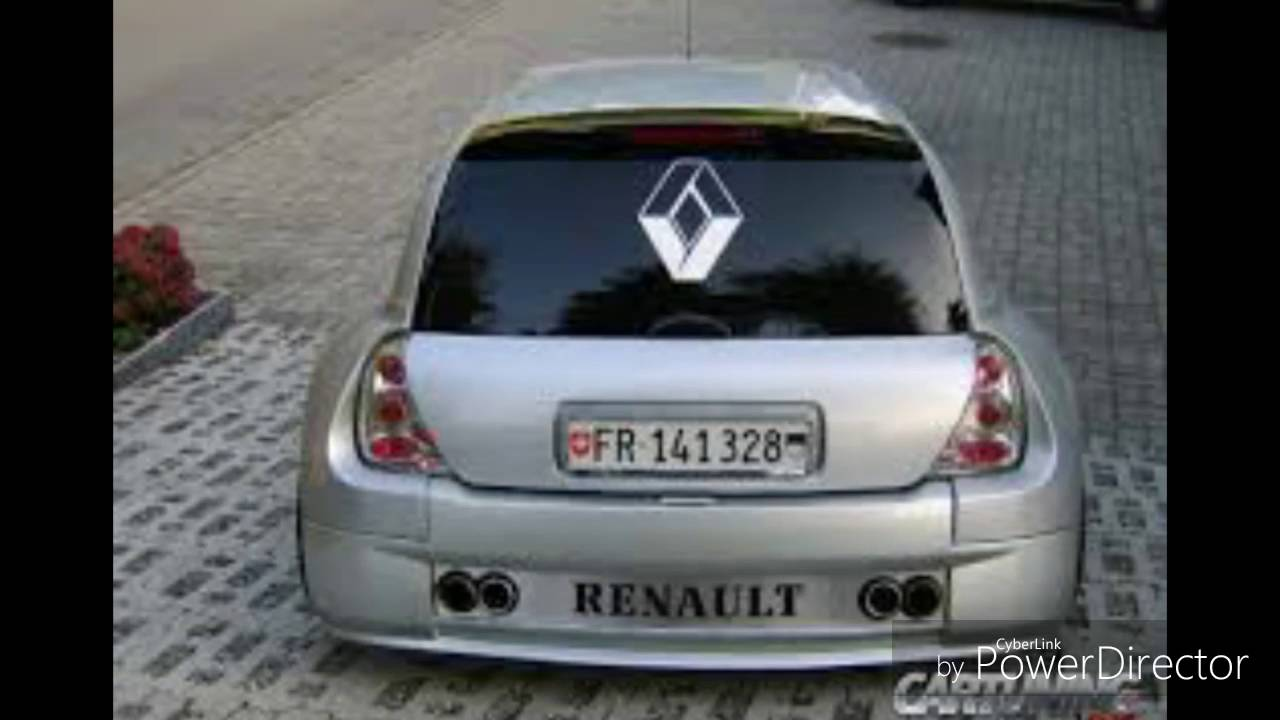 renault clio tuning youtube. Black Bedroom Furniture Sets. Home Design Ideas