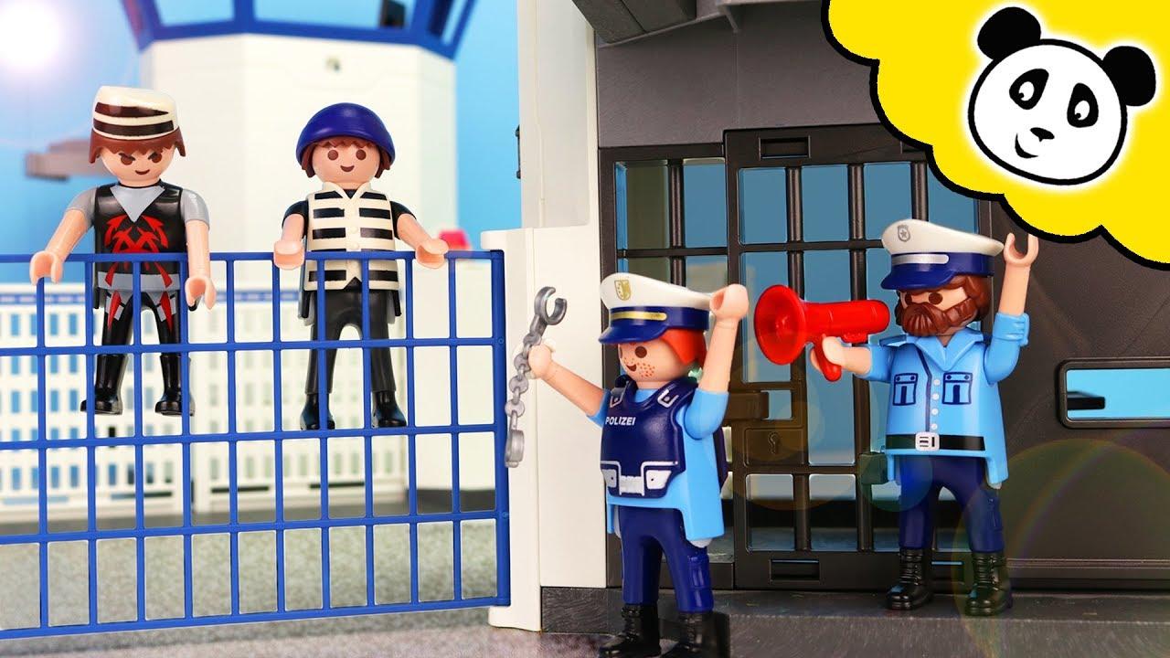 playmobil polizei  undercover toni im gefängnis
