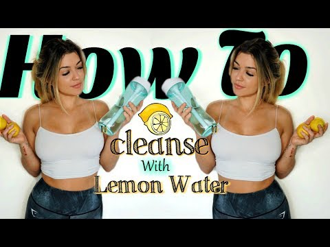 24-Hour Lemon Water Fast Challenge | 2017 Vlog
