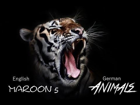 Maroon 5 - Animals [German & English Lyrics]